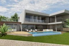Property in Spain. New villa  from builder  with sea views in Benissa,Costa Blanca,Spain