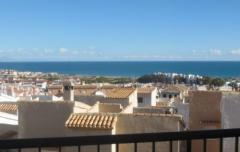 Property in Spain. Resale apartment with  see views in  La Mata Torrevieja,Costa Blanca South,Spain