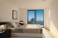 Beach Apartments Under Construction in Calpe, Spain