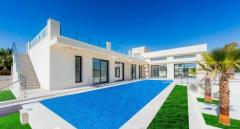 NO-0517  – NEW BUILD Modern Design Villa with Pool located in Torrevieja, Spain