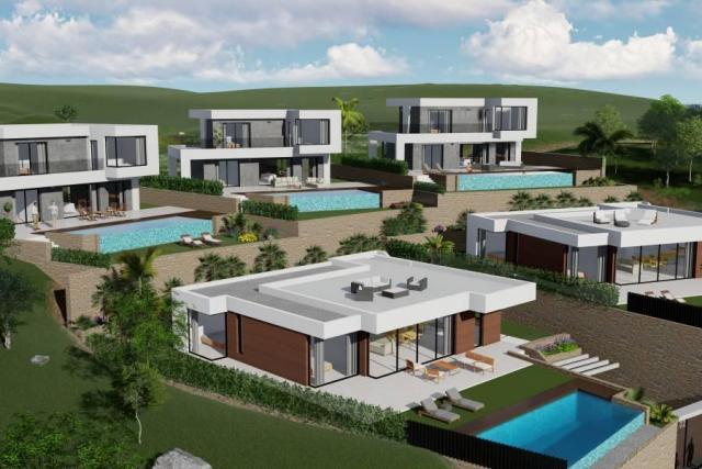 NO-0563 - Set of 4 Luxury Villas in Benidorm, Spain