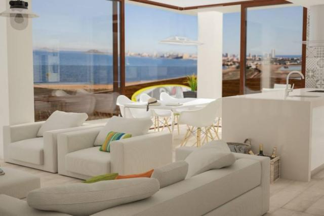 NO-0608 - First Line Beach Apartments in La Manga del Mar Menor, Spain