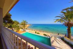 NO-0474 – Luxury frontline Villa at Punta Prima, Spain