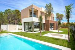 NO-0439 - NEW BUILD Villas in Benidorm, Costa Blanca, Spain