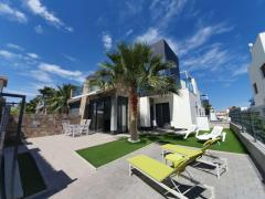 Beautiful modern quad villa in Lomas de Cabo Roig