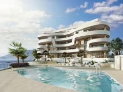 New frontline beach development in Mijas Costa with amazing views