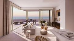 New frontline beach development in Mijas Costa with amazing views