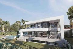 Off Plan Villa in a spectacular are in Estepona with amazing sea views.
