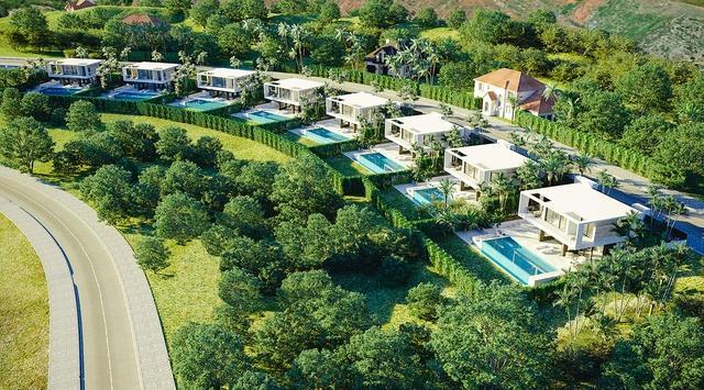 New development in Valle Romano - Estepona only 8 villas with nice views.