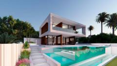Off Plan Villa in Valle Romano in Estepona frontline Golf