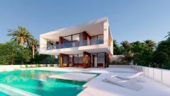 Off Plan Villa in Valle Romano in Estepona frontline Golf