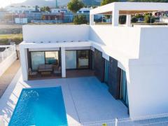 Modern new villa with pool