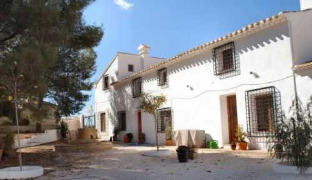 Cortijo Stone 6 Bedroom Restored Cortijo Murcia for sale