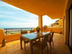 Modern apartment with panoramic sea views