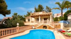 Amazing villa winter rental or weekly from 750€ week ( Moraira )
