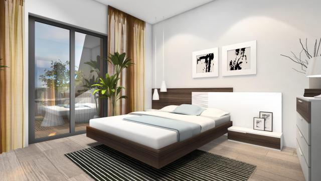 THREE-BEDROOM APARTMENTS IN ALEGRIA RESIDENCIAL X