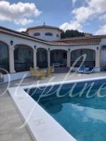 Stunning villa on one level panoramic views